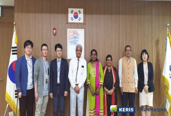 National Council of Educational Research and Training of India visited KERIS