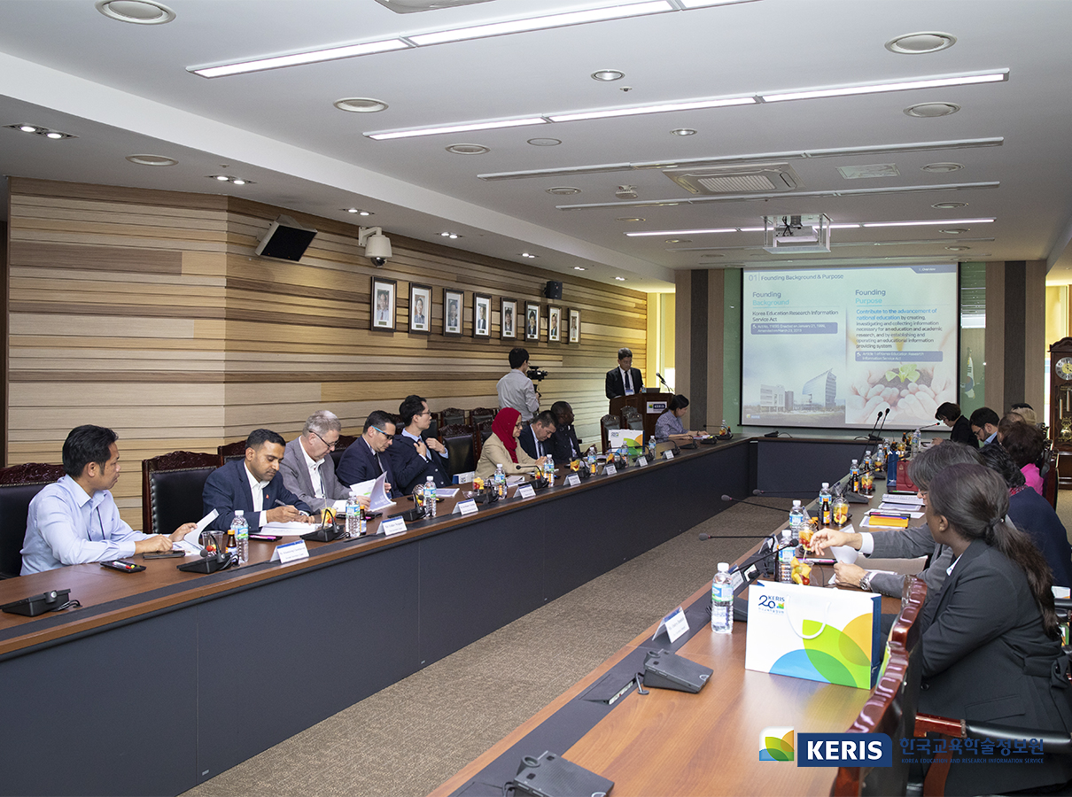 Ambassadors to Korea from Romania, Bangladesh, and Sri Lanka, and Diplomatic Corps in Korea Visited KERIS