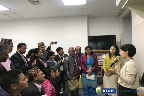 Delegation from Ministry of Education, Science and Technology in Nepal visited KERIS