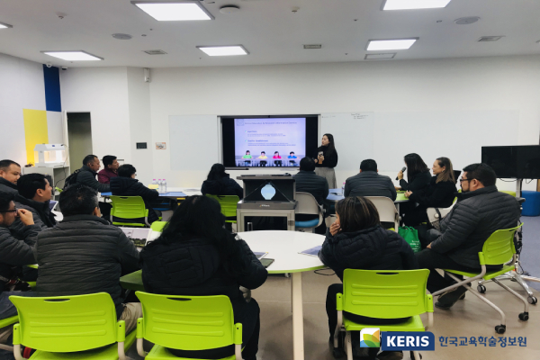 Delegation from Ministry of Education in Guatemala visited KERIS